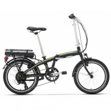 "Lombardo Ischia E-Bike 20"" Black-Green"