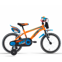 "Lombardo Brera 16"" Kids Orange Blue Glossy"
