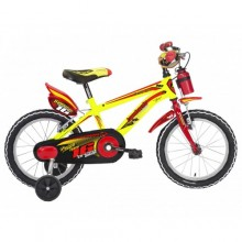 "Lombardo Brera 16"" Kids Yellow Red Glossy"